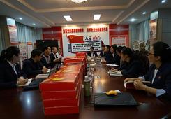 中检集团广西公司党总支基层党组织规范化建设现场考核获佳绩